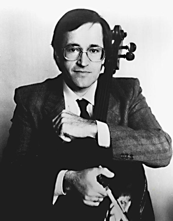 David Geringas - viola da gamba