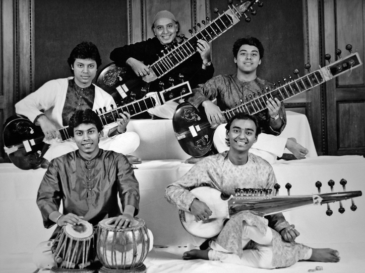 Ustad Imrat Khan & sons