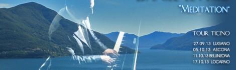 'Meditation' Tour di Concerti del pianista Daniel Levy