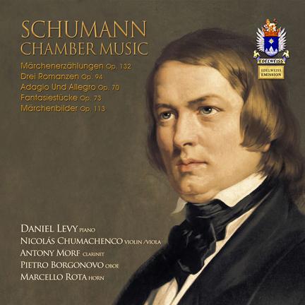 Schumann Chamber Music (piano, violin, clarinert, oboe, horn)
